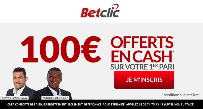 Betclic bonus bienvenue